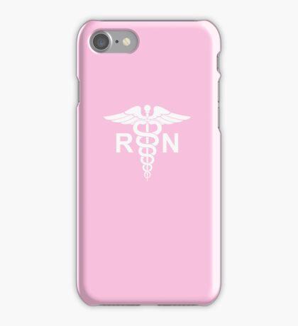 Registered Nurse Pink iPhone Case/Skin