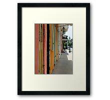 Colours of New Orleans Framed Print