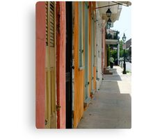 Colours of New Orleans Canvas Print