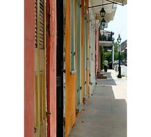 Colours of New Orleans Photographic Print