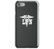 Licensed Practical Nurse (carbon) iPhone Case/Skin