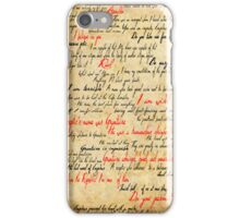 Grantaire iPhone Case/Skin