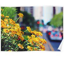 Urbs in Horto (City in a Garden) - Chicago Poster