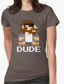 Super Lebowski Brother Womens Fitted T-Shirt