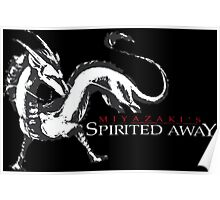 spirited away haku dragon Poster