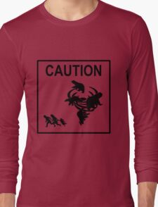 Polar Vortex Caution Long Sleeve T-Shirt