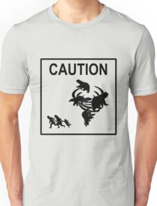Polar Vortex Caution Unisex T-Shirt