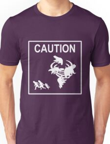 Polar Vortex Caution White Unisex T-Shirt