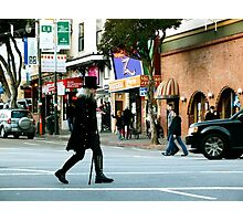 On the Crosswalk Photographic Print