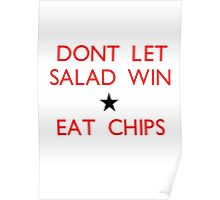Dont let salad win! Poster