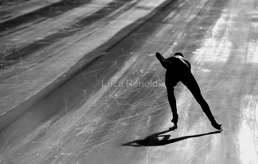 Speed Skating by Luca Renoldi