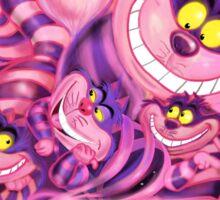 Cheshire Cat from Alice in Wonderland CLASSIC Sticker