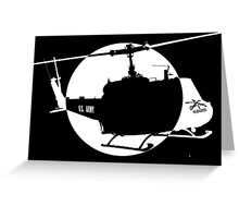 Moonlight Mission Greeting Card
