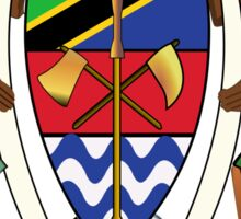 Coat of Arms of Tanzania Sticker