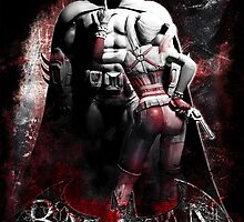 Batman & Harley Quinn Arkham City by sazzed