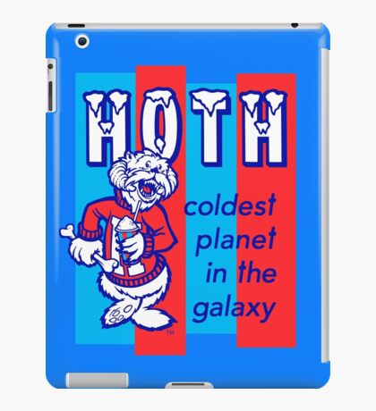HOTH: COLDEST IN THE GALAXY iPad Case/Skin