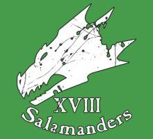 Salamanders Spatter by Dumoque