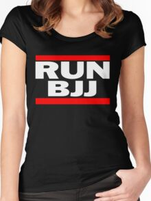 Run BJJ Women's Fitted Scoop T-Shirt