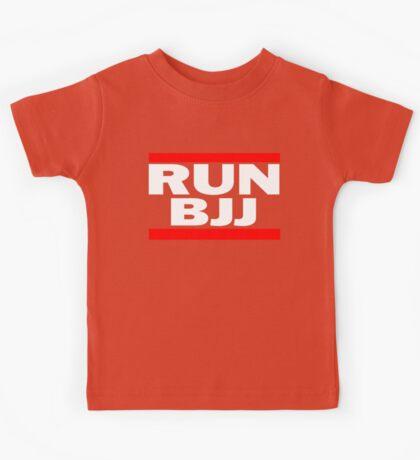 Run BJJ Kids Tee