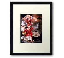 In the Land of the butterfly Keeper. Framed Print