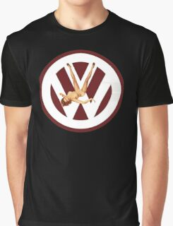 Volkswagen Pin-up (red) Graphic T-Shirt