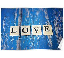blue love Poster