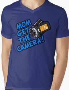 MOM GET THE CAMERA! Mens V-Neck T-Shirt