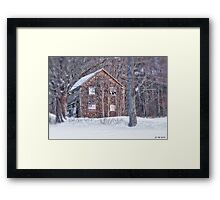 Rural Loyalty Framed Print