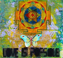 Flower Of Life Love Is Possible by Liz  London