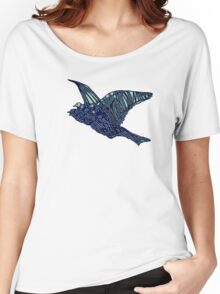 Flock of Blue Birds Women's Relaxed Fit T-Shirt