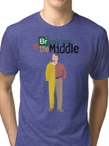Breaking In The Middle Tri-blend T-Shirt