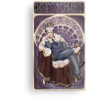 Villain Nouveau- Jim Moriarty Metal Print