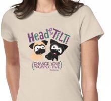Pug Head Tilt (Blue and Purple) T-Shirt