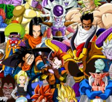 DragonBall Z - Insane amount of Characters Sticker