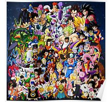 Dragon Ball Z - Insane amount of Characters Poster