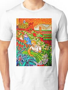 A gathering of Flowers Unisex T-Shirt