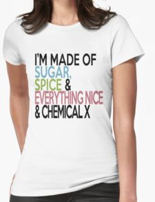 What I'm made of.... Womens Fitted T-Shirt