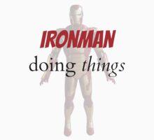 Iron man doing things  by Purplehead97