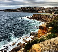 Sunrise Over Coogee 08.01.14 by James Toh