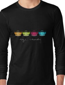 Eye Candy-dark tee Long Sleeve T-Shirt