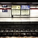 Bruxelles National Airport - Train Station by Jeremy Lavender Photography