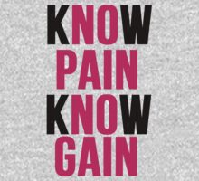 Know Pain Know Gain by mralan