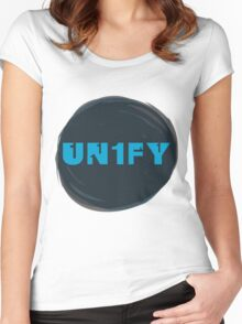 UN1FY Women's Fitted Scoop T-Shirt