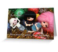 Minion Christmas 1 2012 Greeting Card
