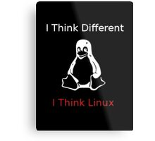 I think Linux Metal Print