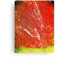 Making A Splash Two- Unique Abstract Art Canvas Print