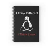 I think Linux Spiral Notebook