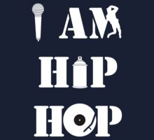 I Am Hip Hop Baby Tee