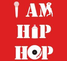 I Am Hip Hop Baby Tee