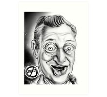 Rodney Dangerfield Caricature Art Print